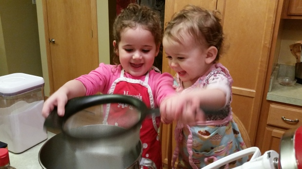 Also, the kids LOVE the sifting part